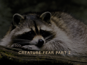 Creature Fear Part 2